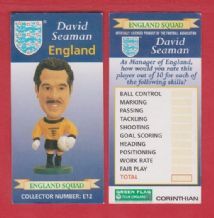 England David Seaman Arsenal E12